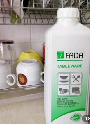 Эко средство для мытья посуды fada