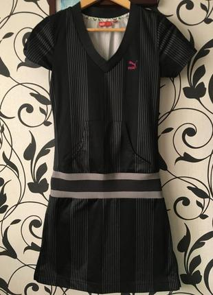 Спортивное платье puma платье для спорта прогулочное платье оригинал