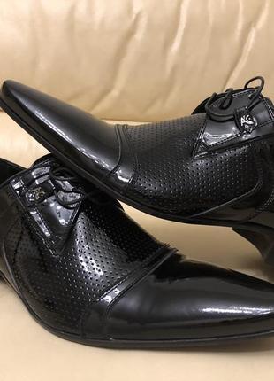 Туфли лаковые италия 🇮🇹 alberto ciccioli