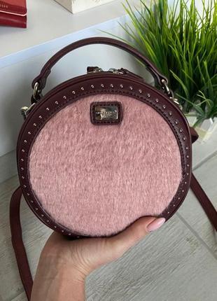 Женская сумка кругляшка дэвид джонс