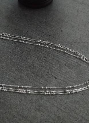 Срібне кольє 925 проба (серебро ,срібло,колье)
