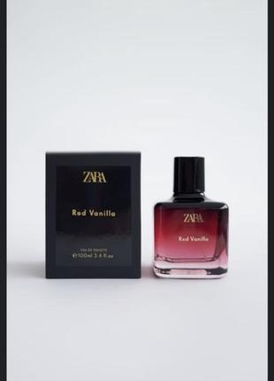 Духи zara red vanilla/парфуми/туалетная вода /туалетна вода /духи зара zara