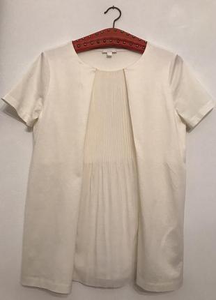 Блузка-футболка,плиссе
