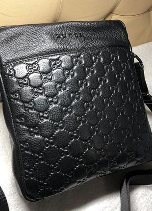 Мужская сумка кожа