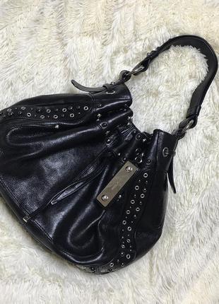 Кожаная брендовая сумка karen millen