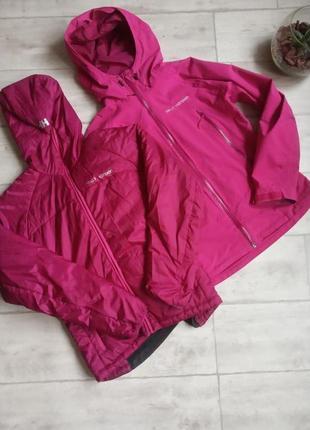 Женская мембранная куртка с подкладом helly hensen 3 in 1