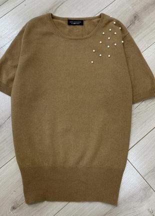 Тёплая кашемировая футболка