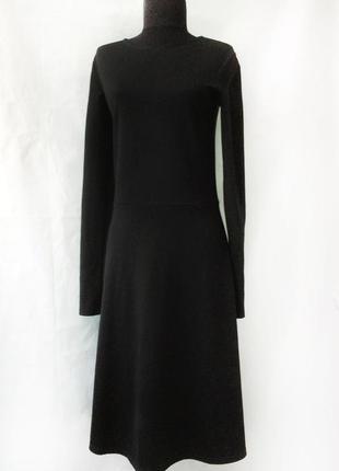 Строгое черное элегантное платье h&m