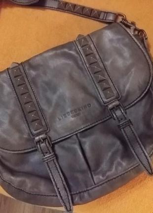 Красивая  кожаная сумка .швейцария.