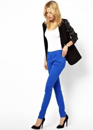 Джинсы брюки синие фирмы morgan