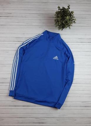 Мужская кофта adidas, 3 stripes 1/3 zip