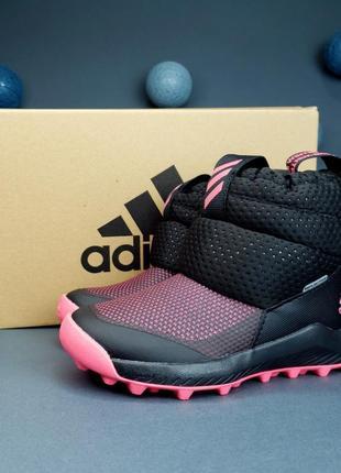 Зимние детские сапожки adidas rapidasnow, новые в коробке