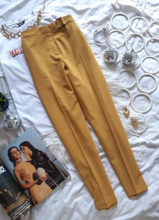 🖤 красивые горчичные брюки от f&f