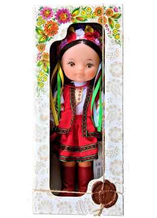 Кукла ручной работы, мягконабивная кукла украинка для девочек сувенир