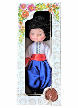 Кукла ручной работы, мягконабивная игрушка українець для девочек сувенир
