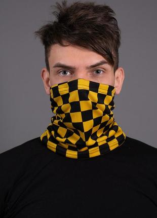 Баф without light square yellow man
