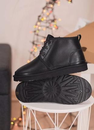 """Ugg neumel """"leather black"""" ph угги наложенный платёж купить"""