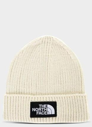 Шапка the north face logo box bleached sand (reg) (nf0a3fjxrb61)