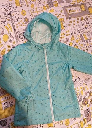 Ветровка куртка 113-122 см, 5-6 лет quetechua