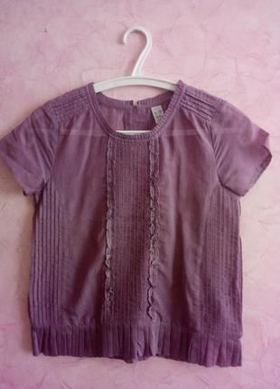 Лёгкая летняя блуза zara