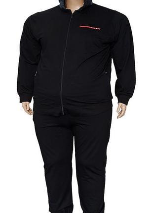 Большого размера мужской спортивный костюм prada