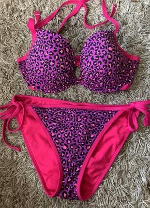 Купальник с леопардовым принтом limited collection