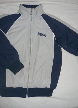 Теплая спортивная кофта-куртка на 5-6-7 лет