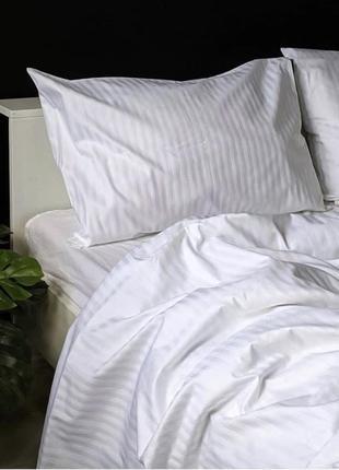 Комплекты постельного белья всех размеров страйп сатин, комплекти постільної білизни