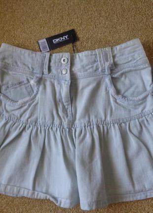 Джинсовая юбка dkny - для девочки 14 лет