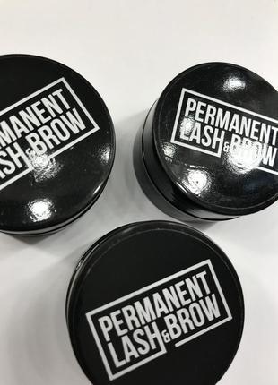 Срочно!набор хны permanent lash&brow+в подарок окислитель levissime