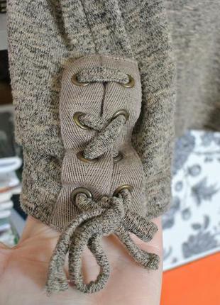 Майка со шнуровкой от new look, тренд сезона, меланж