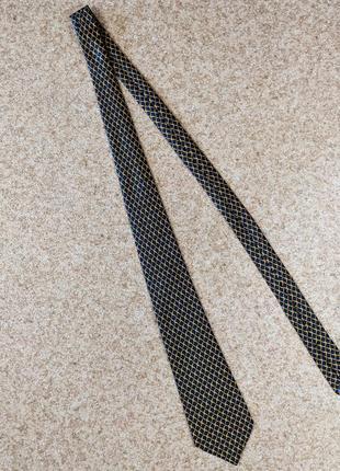 Шелковый галстук celine paris