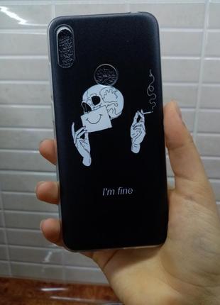 """Чехол та телефон на huawei """"i'm fine"""""""