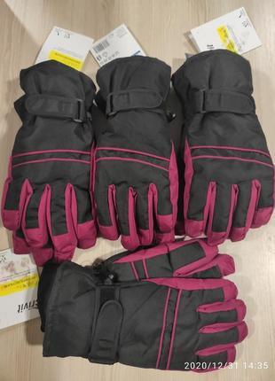 Лыжные перчатки crivit размер 7