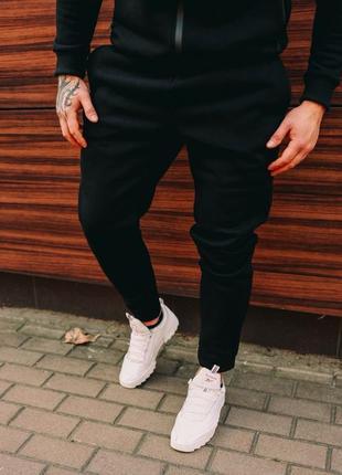 Теплые мужские спортивные штаны на флисе. брюки чоловічі