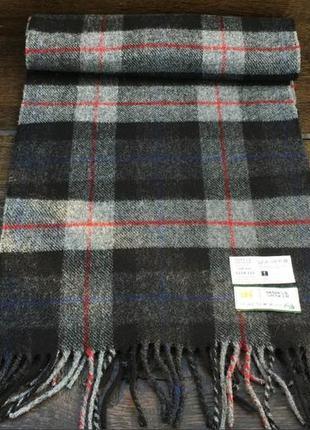Marks & spencer. новый мужской шерстяной шарф. с биркой. зимний шарф