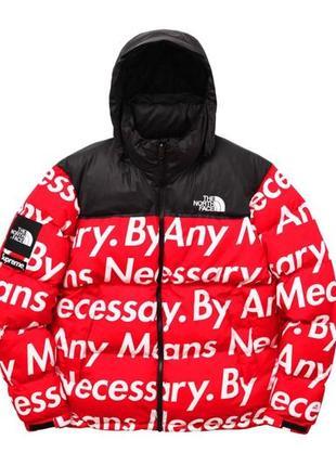 Пуховик куртка зимняя утеплённая tnf