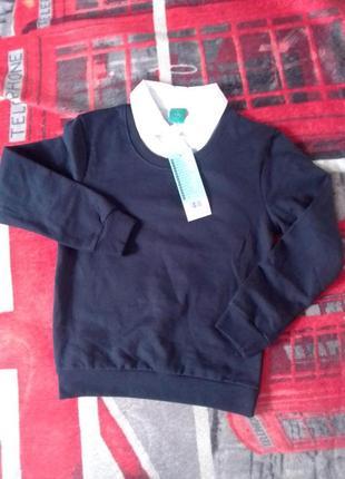 Кофта обманка джемпер little kids pepco 122-134