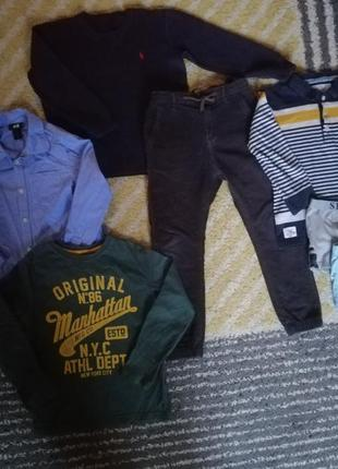 Одежда на мальчика 122 рост, одним лотом
