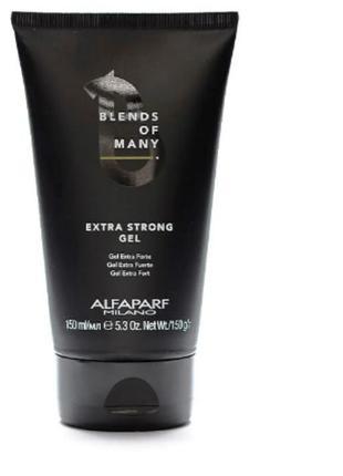 Пробник гель для волос сильной фиксации мужской