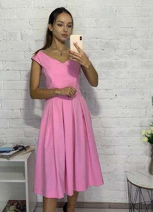 Платье вечернее миди-корсет
