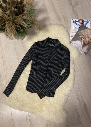Amisu-пиджак/жакет в актуальную полоску