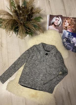 Винтаж-пиджак жакет-куртка (подиумного стиля)