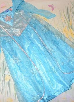 Нарядное платье эльзы