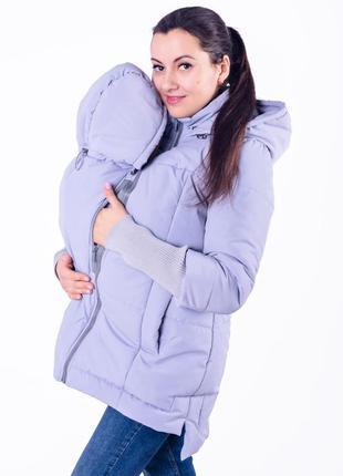 Весенняя слингокуртка для беременных 3 в 1