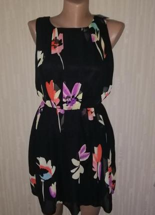 Платье легкое с цветами atmosphere