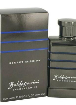Парфюм для мужчин baldessarini secret mission  одеколон спрей