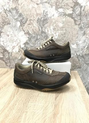 Mbt 43 р кожа кроссовки кросівки туфли ботинки
