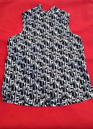 Шелковая блуза с драпировкой на воротнике