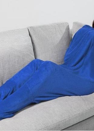 Одеяло плед с носками footsie blanket